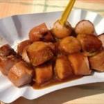 ドイツの屋台食 カレーヴルストとホットドッグが美味い