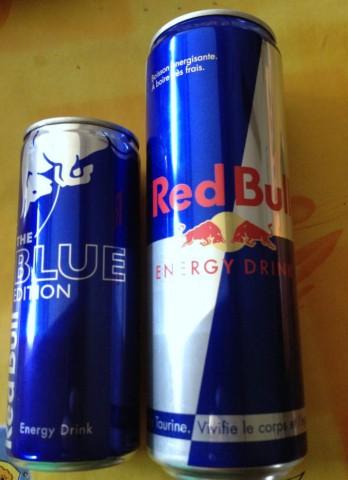 レッドブル ブルー・ノーマルロング缶