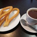 スペイン名物 チュロス&ホットチョコレートが美味い
