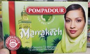 日本未発売 POMPADOUR Marrakech ミントティーが美味い!