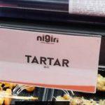 マドリード スペイン広場 日本料理nigiriの日本語メニュー表記が面白い!