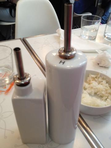 フランス パリ サンジェルマン『Sushi West』醤油