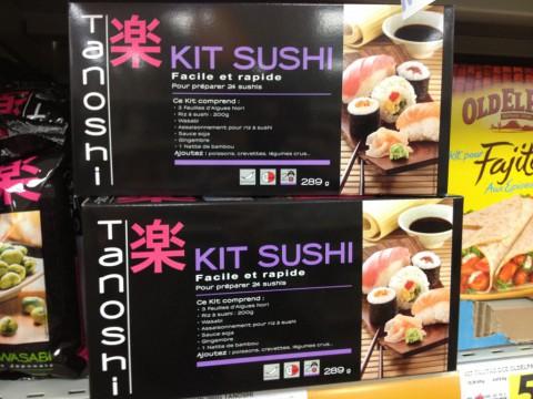 フランス スーパー 手作り寿司キット
