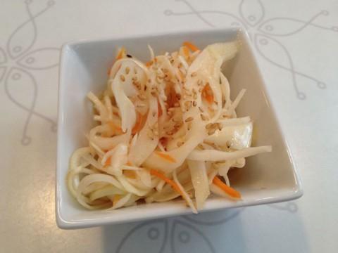 フランス パリ サンジェルマン『Sushi West』サラダ