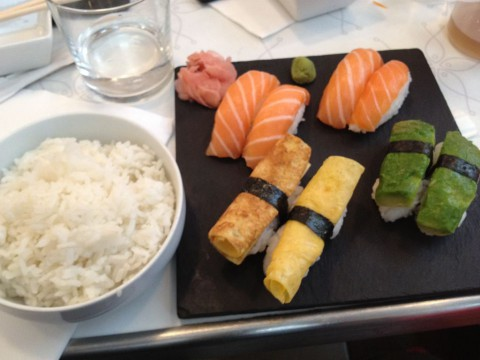フランス パリ サンジェルマン『Sushi West』握りセット