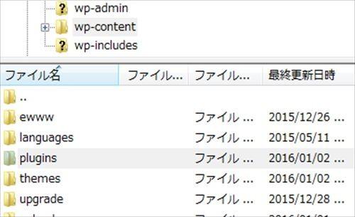 WordPressFTP プラグイン