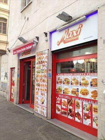 イタリア ローマ Maxi Chicken