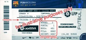 FCバルセロナ観戦チケットを公式サイトで定価で買う