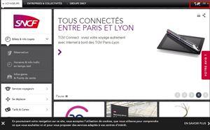 フランス国鉄(SNCF)公式サイト 鉄道チケット インターネット購入方法