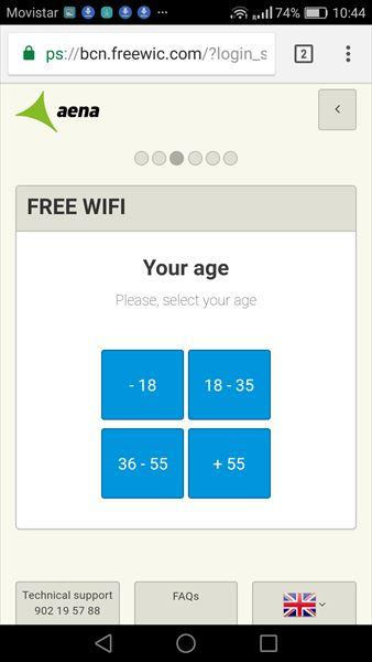 年齢を登録