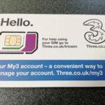 日本で買えるヨーロッパ用格安SIM Threeプリペイドが超便利