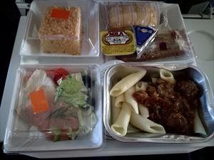 意外と悪くない!アエロフロート・ロシア航空 エコノミー機内食