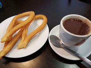マドリードのチュロス&チョコラータ