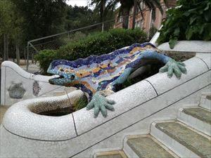 予約無しでも入れる バルセロナ グエル公園 早朝無料入場の注意点