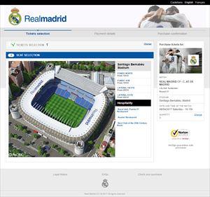 レアル・マドリード サンティアゴ・ベルナベウ観戦チケット 定価購入方法