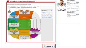 レアル・マドリード 公式チケット販売サイトでクレジットカードが使えない際の対処方法