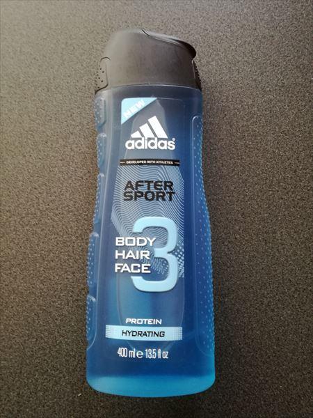 Adidas After Sport シャワージェル&シャンプーがいい感じ