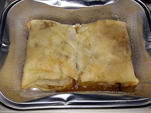 アエロフロート機内食 レモンパンケーキ