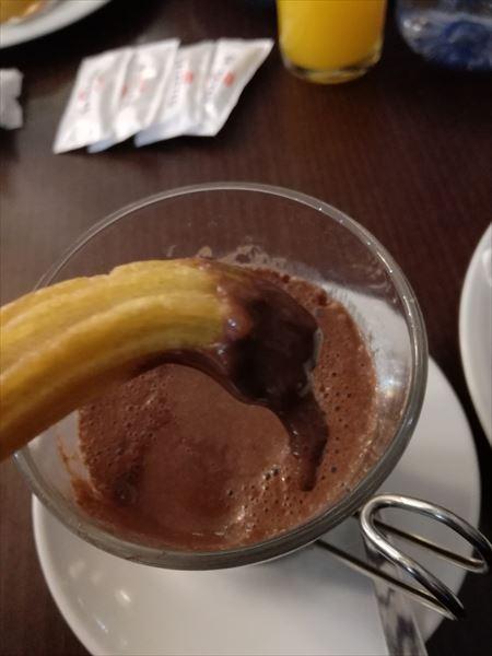 チュロス&チョコラータ