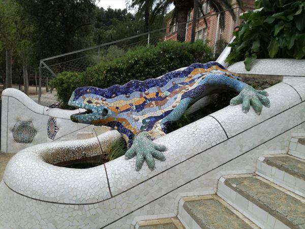 グエル公園 ドラゴン
