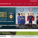 バイエルンVSチェルシー戦 Singapore Sports Hubチケット購入方法