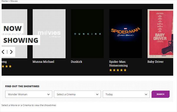 insing.comで上映中の映画を検索