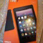 Amazon Kindle Fire7 の画面に線が入る不具合と新品交換対応