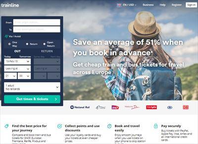 イギリス国内鉄道格安チケット購入サイト Trainline使い方