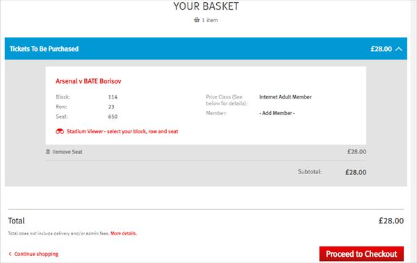 YOUR BASKET