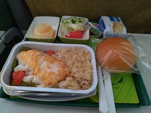 エチオピア航空・機内食