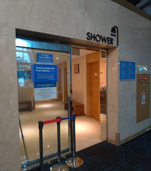 仁川国際空港 シャワー室 外観